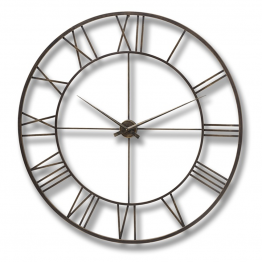 Large Round Open Wall Clock