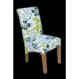 Chair.Fabric-Green Flower