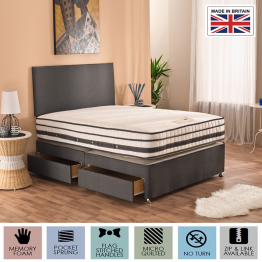 MEMORY SUPREME DIVAN BED Options from -