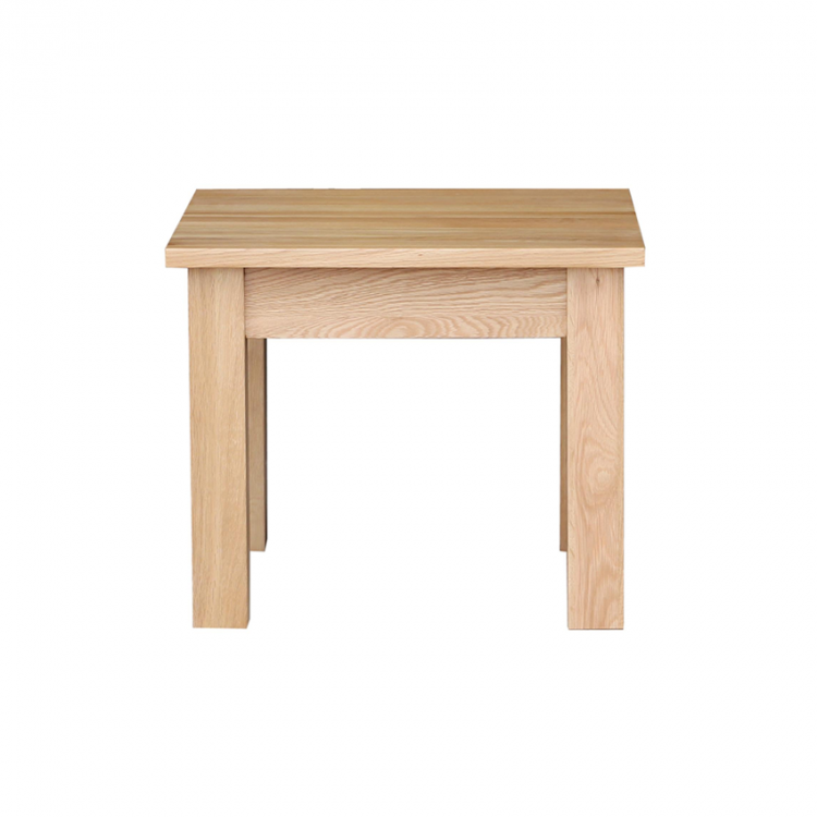 Oak Occasional Small Coffee Table