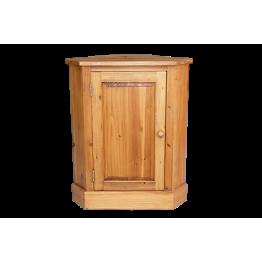Reclaimed Pine Corner Cupboard - Low