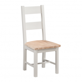 Stow Painted T Ladder -back Oak Dining Chair