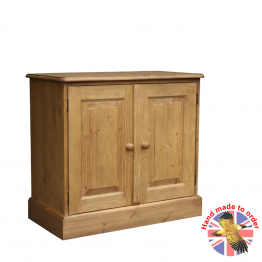 Woodpecker Cottage Low 2 Door  Cupboard