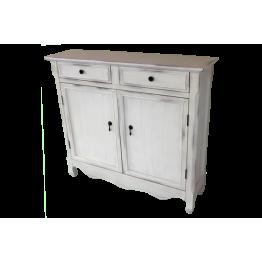 White.2 drw 2 door Cupboard