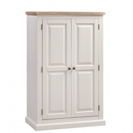 York Painted Bedroom Wardrobe Double Compact