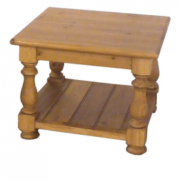 Reclaimed Pine Coffee Table Square Top