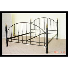 5ft Daisy Metal Bed (kingsize)