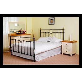 """4ft 6"""" Katie metal bed (Double)"""