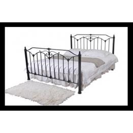 5ft Rose Metal Bed (Kingsize)